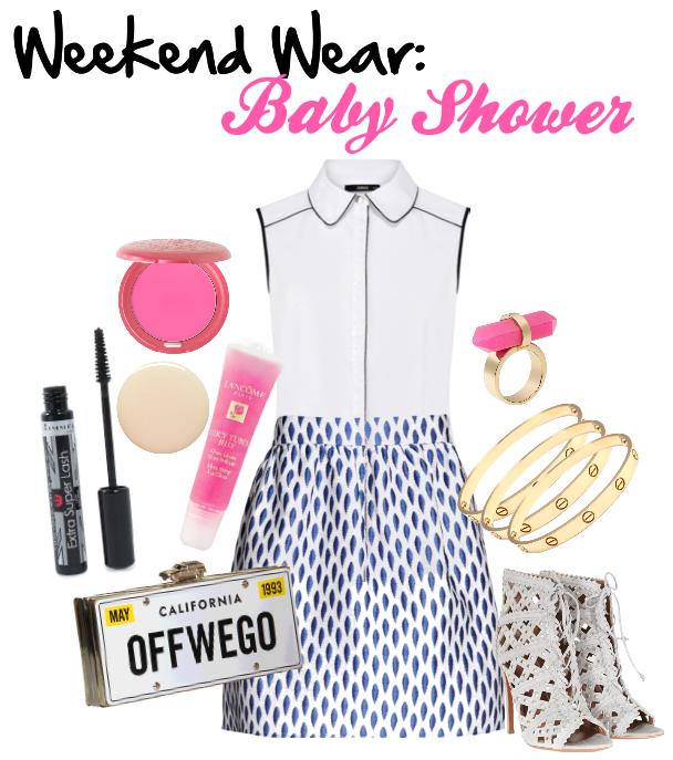 baby shower weekend wear baby shower